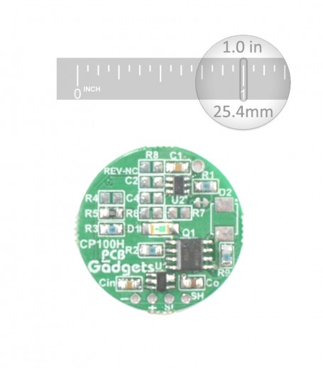 Capacitive High Side Switch