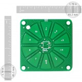 Capsense Scroll Wheel PCB-10 Sensors