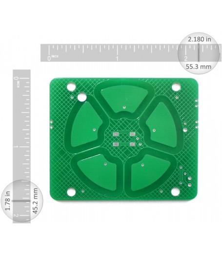 Capsense Scroll Wheel PCB-5 Sensors